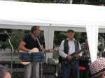 Bruce and Glen McElroy play together at the Waterfront Stage.
